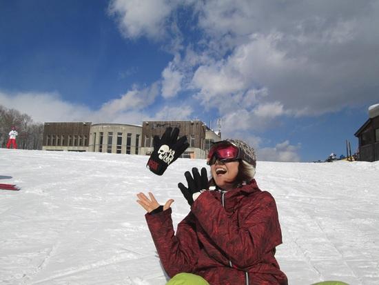 天候最高|白馬岩岳スノーフィールドのクチコミ画像1