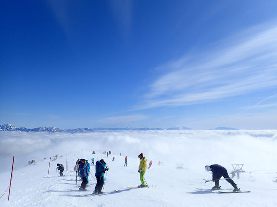 リーゼンクラートコースの雲海|白馬八方尾根スキー場のクチコミ画像