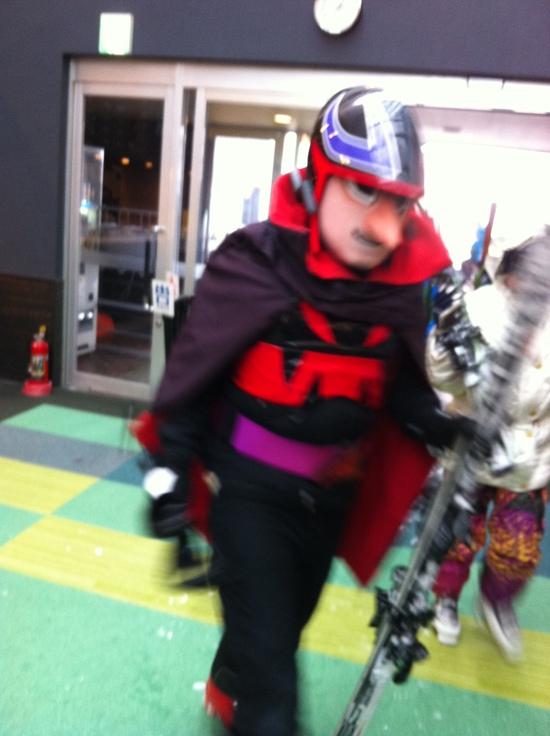 チョッカリ大魔神発見!|星野リゾート トマム スキー場のクチコミ画像