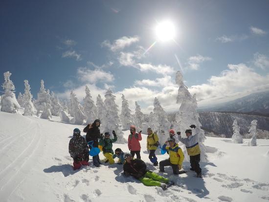 樹氷に息を呑む|阿仁スキー場のクチコミ画像3