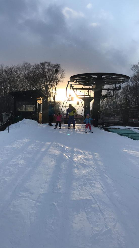 孫もチャレンジ!|たんばらスキーパークのクチコミ画像