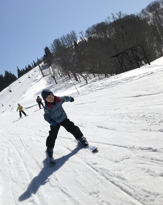 快晴でサイコー!!|ニュー・グリーンピア津南スキー場のクチコミ画像