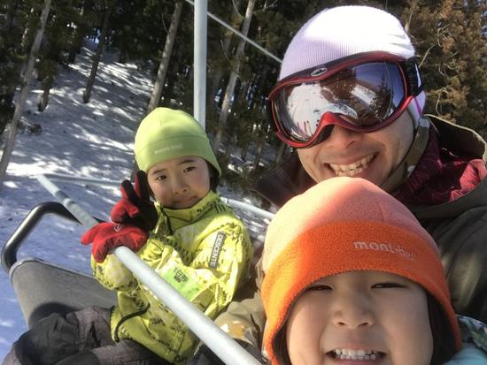 快晴でサイコー!!|ニュー・グリーンピア津南スキー場のクチコミ画像2