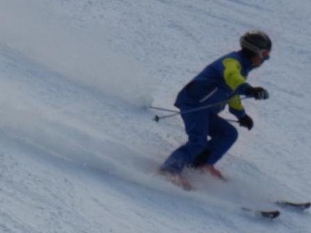 強風、顔面痛い。|信州松本 野麦峠スキー場のクチコミ画像