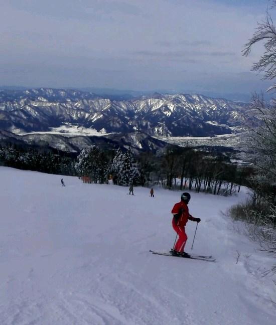 天然雪最高!|スキージャム勝山のクチコミ画像