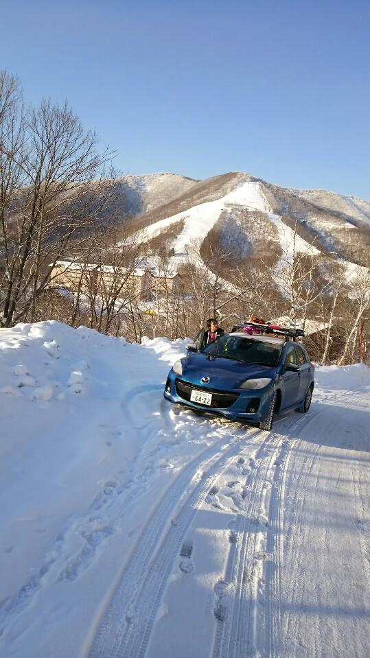 車の色選び|斑尾高原スキー場のクチコミ画像