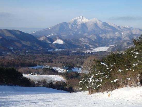 磐梯山がきれいでした 沼尻スキー場のクチコミ画像2