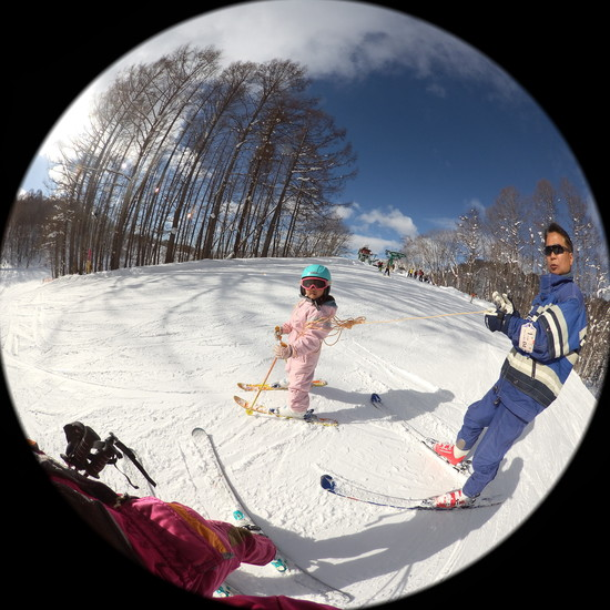 初心者ファミリーにはうってつけ!|水上高原・奥利根温泉 藤原スキー場のクチコミ画像1