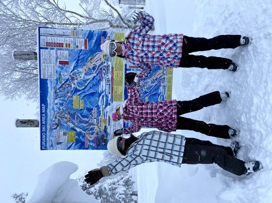 新富良野プリンスホテルと富良野スキー場に初スキーに家族で来ました! 富良野スキー場のクチコミ画像