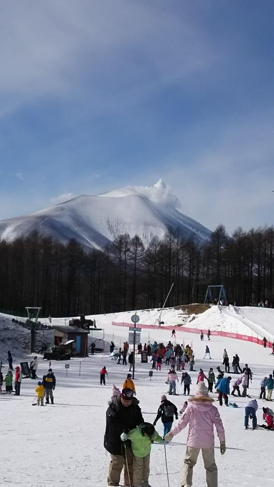初滑り♪|軽井沢スノーパークのクチコミ画像