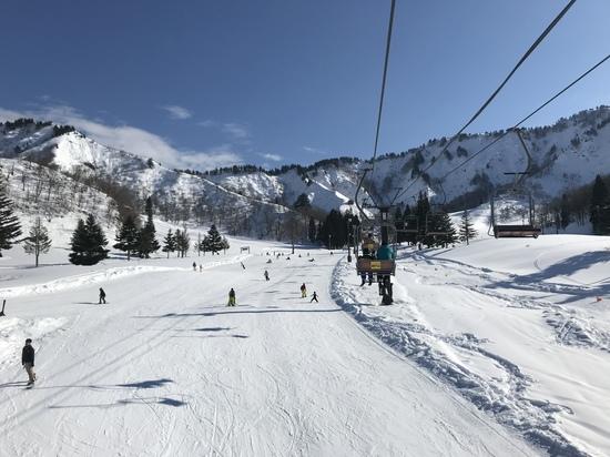 年末でも雪たっぷり 湯沢中里スノーリゾートのクチコミ画像