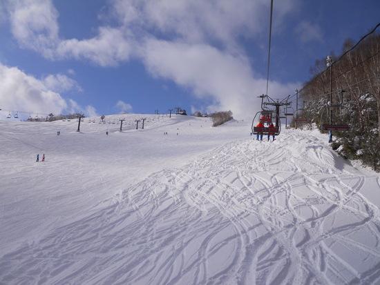 寒かったがサラサラ|志賀高原リゾート中央エリア(サンバレー〜一の瀬)のクチコミ画像1