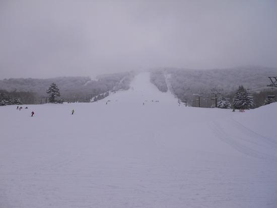 寒かったがサラサラ|志賀高原リゾート中央エリア(サンバレー〜一の瀬)のクチコミ画像2