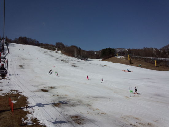 シーズンが終わるぅ~|かたしな高原スキー場のクチコミ画像