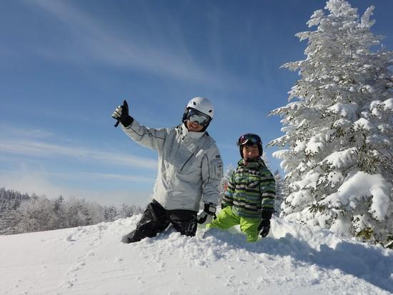 ラッキーな一年になりそう! 草津温泉スキー場のクチコミ画像