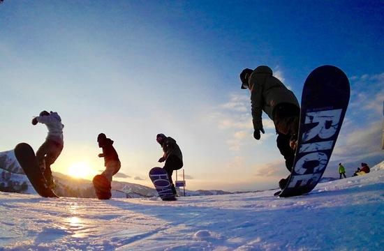大晦日の夕日|舞子スノーリゾートのクチコミ画像