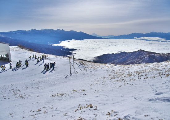 山頂は360度のパノラマ|車山高原SKYPARKスキー場のクチコミ画像