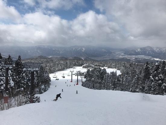 雪質は最高でした。|スキージャム勝山のクチコミ画像2