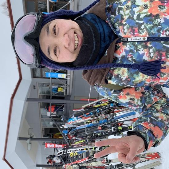 雪質にご満悦。|丸沼高原スキー場のクチコミ画像