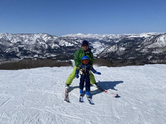 じいちゃんと初スキー!|会津高原南郷スキー場のクチコミ画像