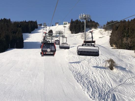 サンライズエクスプレス乗り心地最高!|石打丸山スキー場のクチコミ画像2