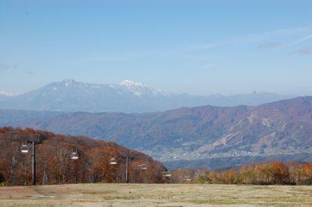 野沢の初降雪 野沢温泉スキー場のクチコミ画像