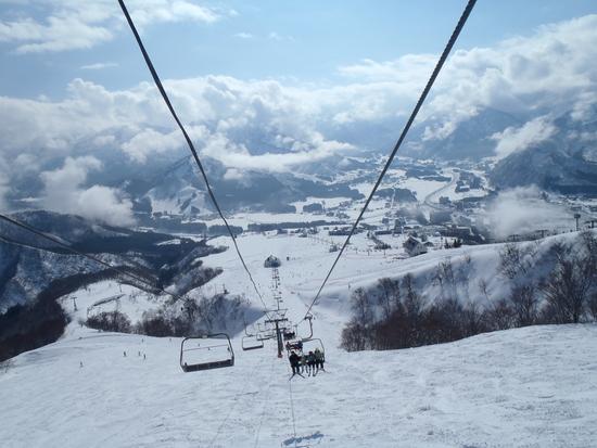 山頂クワッドから|岩原スキー場のクチコミ画像