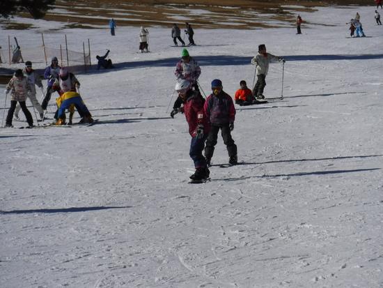 子供が初スノボー 草津温泉スキー場のクチコミ画像