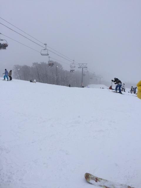 狭いです|GALA湯沢スキー場のクチコミ画像1