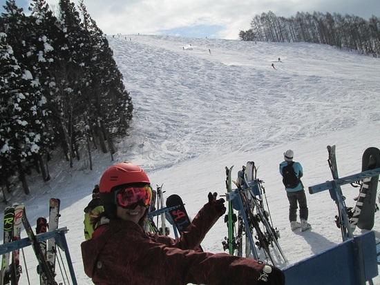 名コース「シュナイダー」|野沢温泉スキー場のクチコミ画像