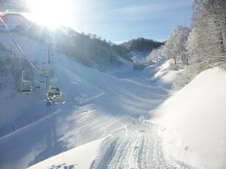 アットホームなスキー場 松之山温泉スキー場のクチコミ画像