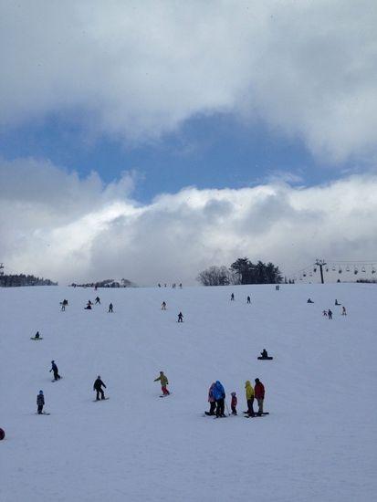 さすが関西屈指!ただ、とにかく人が多い‼︎|スキージャム勝山のクチコミ画像