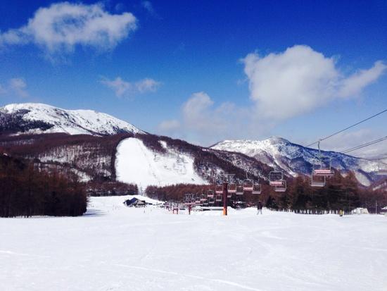 快晴!|湯の丸スキー場のクチコミ画像