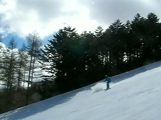まだシーズン中の雪でした。|ブランシュたかやまスキーリゾートのクチコミ画像