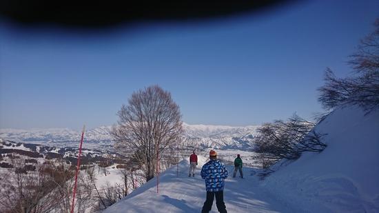 東京ドーム214個分という触れ込みの巨大スキー場でした。|上越国際スキー場のクチコミ画像