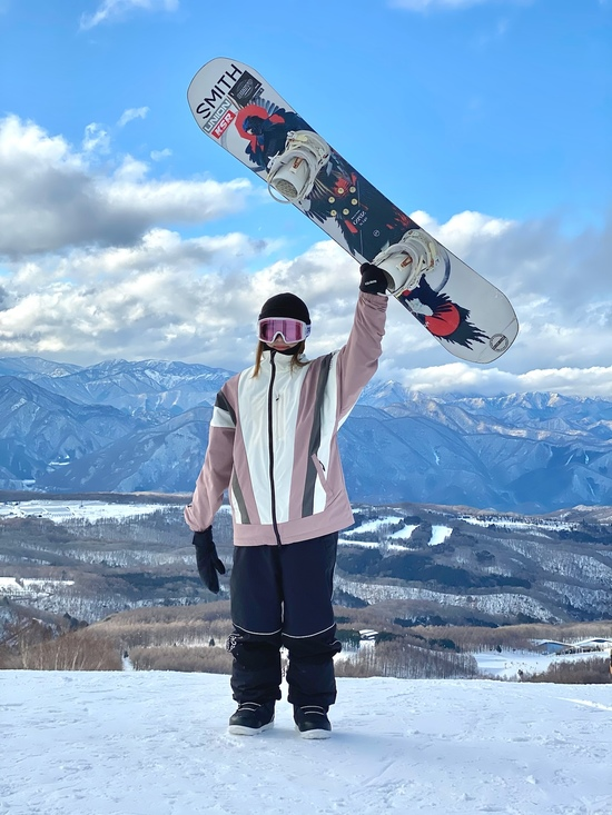 景色も雪も最高です!|ハンターマウンテン塩原のクチコミ画像