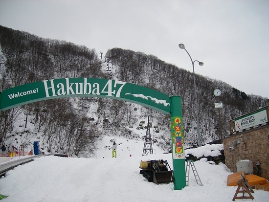 クリスマス連休は意外に空いている|Hakuba47 ウインタースポーツパークのクチコミ画像