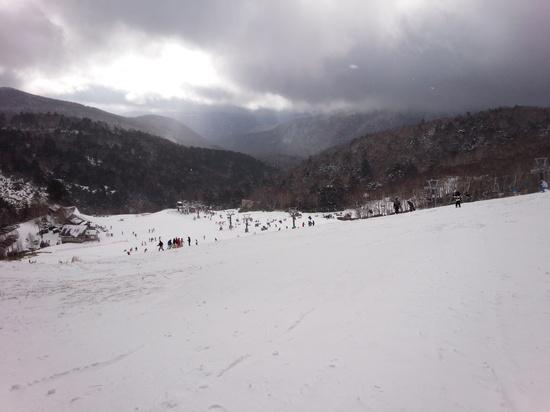 300メートル一本勝負|万座温泉スキー場のクチコミ画像