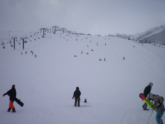 コンディション抜群|白馬八方尾根スキー場のクチコミ画像