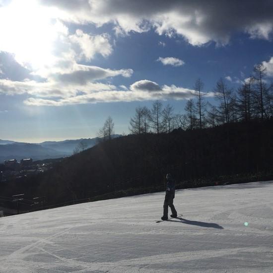 コースは少なくて直ぐ飽きるけれど早々に温泉へ 草津温泉スキー場のクチコミ画像