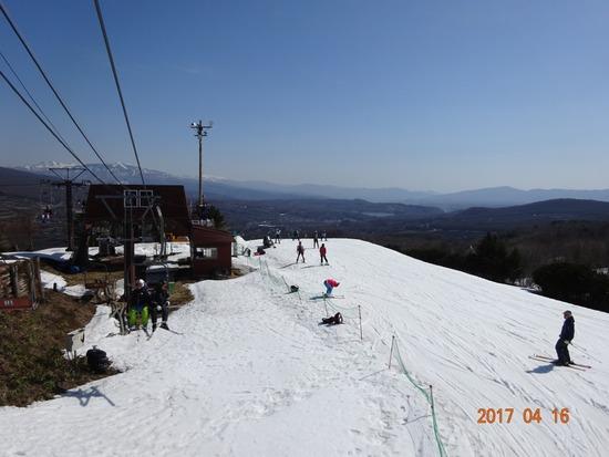 春スキーも楽しいゲレンデ|鹿沢スノーエリアのクチコミ画像3
