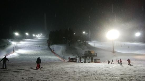 週末は24時までナイター|ノルン水上スキー場のクチコミ画像