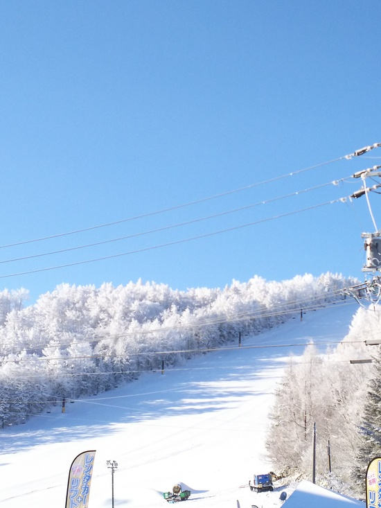 雪室最高 ゲレンデ最高|菅平高原スノーリゾートのクチコミ画像