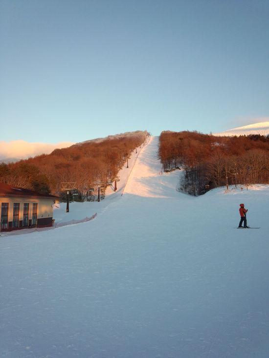 今シーズン初滑り|箕輪スキー場のクチコミ画像