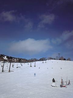 晴れ、曇り、雨、晴れ|万座温泉スキー場のクチコミ画像