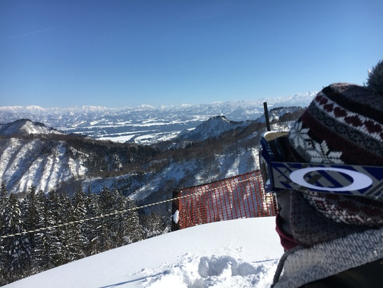 今期一番|松之山温泉スキー場のクチコミ画像2
