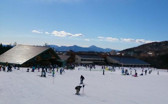 2/25 快晴で爽快でした。 草津温泉スキー場のクチコミ画像