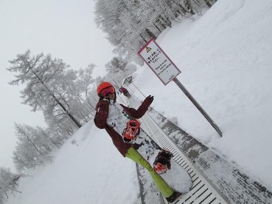 樹氷滑走|斑尾高原スキー場のクチコミ画像1