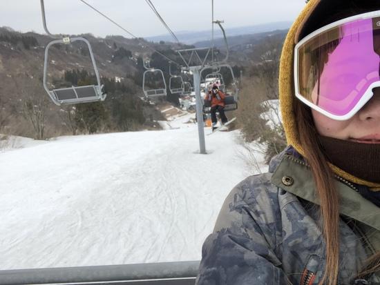 雪が全然ない…|上越国際スキー場のクチコミ画像