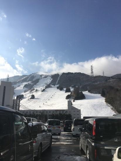 雪少ない|苗場スキー場のクチコミ画像
